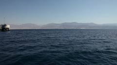 Gulf of Aqaba, Red Sea Stock Footage