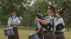 Queensland Police Graduation Ceromony (2) Stock Footage