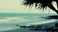Noosa heads beach Stock Footage