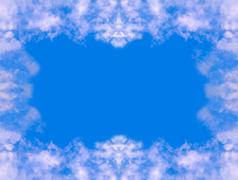 abstract sky background  - stock photo