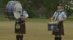 Queensland Police Graduation Ceromony (4) Stock Footage