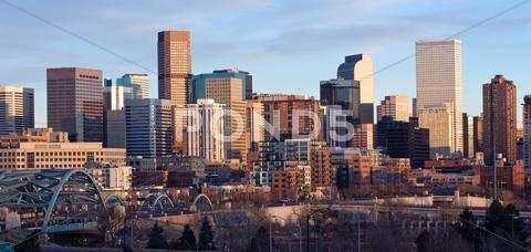 Stock photo of Downtown Denver Buildings