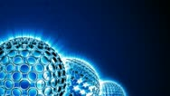 Spherical Elements Background 03 (HD) Stock Footage
