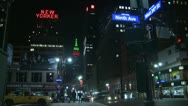 Stock Video Footage of New York City at 9th Ave. & West 34th St.