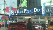 Stock Video Footage of New York Police Station