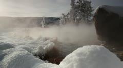 Yellowstone HotSpring 3072 Stock Footage