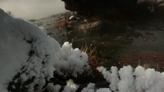 Yellowstone HotSpring 3073 Stock Footage