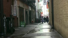 San Francisco , Chinatown Stock Footage