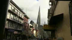 San Francisco, cloudy Stock Footage