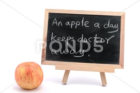 Stock photo of apple