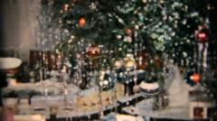 Christmas Tree And Random Bits-1958 Vintage 8mm film Stock Footage