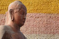 head of buddha, .. - stock photo