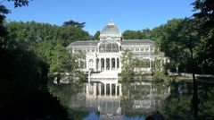 Crystal Palace Madrid 30 Stock Footage