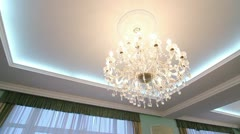 Chandelier Stock Footage