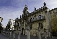 Stock Photo of baroque facade of university of valladolid
