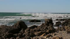 Baja Rocky Beach Stock Footage