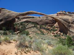 Landscape Arch II - stock photo