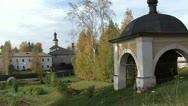 Kirillov monastery. Vologda Region Stock Footage