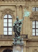 Stock Photo of statue and facade