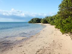 florida keys anne's beach - stock photo