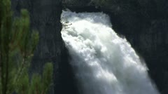 Wells Grey Waterfalls Stock Footage