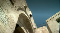 Jaffa Gate of Jerusalem 4 Stock Footage
