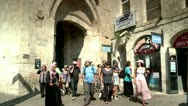 Stock Video Footage of Streets of the Old City of Jerusalem 2