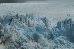 perrito moreno glacier argentina - stock photo