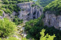 emen canyon in bulgaria - stock photo