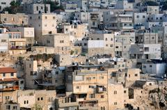 Fragment of silwan village Stock Photos