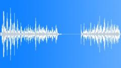 Using eraser - sound effect