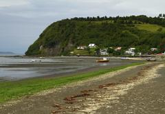 chiloe chile - stock photo