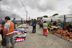 Chiloe chile - feria artesenal Stock Photos
