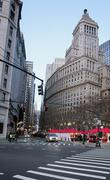 financial district in new york - stock photo