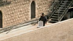 Israeli Policemen - Jerusalem 1 Stock Footage