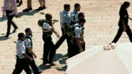 Stock Video Footage of Israeli Policemen - Jerusalem 3