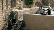 Stock Video Footage of Israeli Policemen - Jerusalem 6