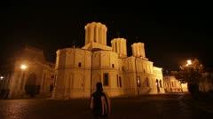 Romanian Patriarchal Palace 1 Stock Footage
