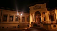 Romanian Patriarchal Palace 4 Stock Footage