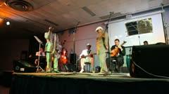 Buena Vista Social Club Performs  in Veradero Cuba Stock Footage