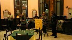 Havana Musicians Stock Footage