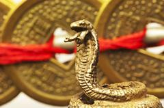 Stock Photo of feng shui year of the snake