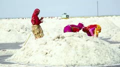 Salt mining. Stock Footage