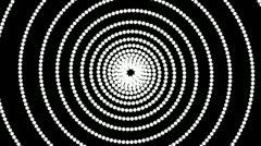 dot hypnotize - stock footage