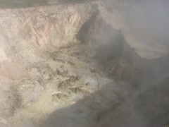 Boiling mud and damp from earth surface Stock Footage