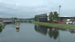 River Trent Stock Footage