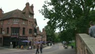 Stock Video Footage of Nottingham Old Town