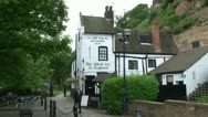 Stock Video Footage of England's Oldest Inn