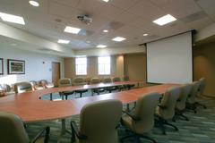 large conference room - stock photo