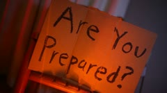 Prep prepare prepper Stock Footage